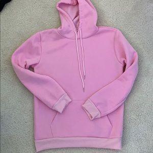 Solid Pink Hoodie